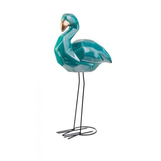 Interjero detalė paukštis VINTAGE, turkio, 20x12 x 52(A) cm